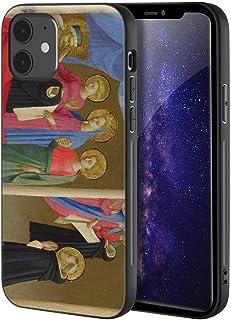 Fra Angelico iphone 12 Mini用ケース/ファインアート携帯電話ケース/高解像度ジクレーレベルUV複製プリント、携帯電話カバー(作業shop Of ビジョン Or の Dominican Habit)