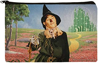 Wizard of Oz Scarecrow Character Makeup Cosmetic Bag Organizer Pouch