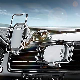 $23 » RTAKO Car Phone Holder Mount 360 Degree Rotation Cell Phone Holder for Car Dashboard/Windshield/Air Vent/Desk, Phone Car H...