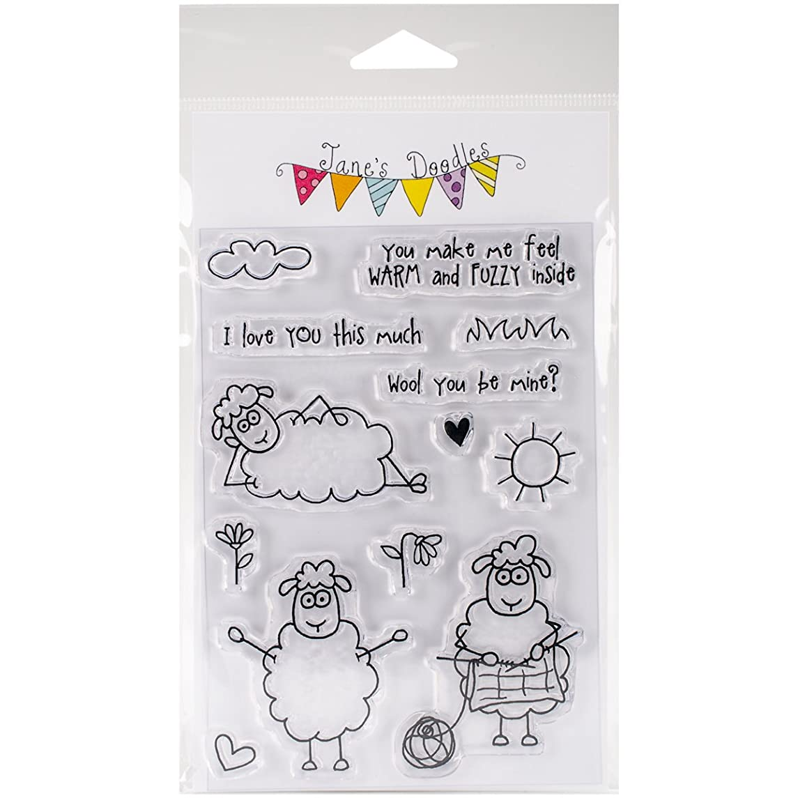 Jane's Doodles 742866 Clear Stamps 4