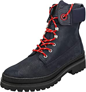 TOMMY HILFIGER Sporty Outdoor Lace Up Bootie Womens Casual Boots
