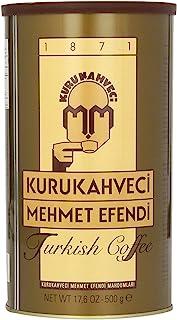Turkish Ground & Roasted Coffee (Kurukahveci Mehmet Efendi Cekilmi? ve Kavrulmus Turk Kahvesi) - 1.1lb