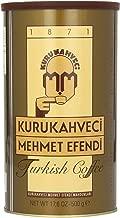 Turkish Ground & Roasted Coffee (Kurukahveci Mehmet Efendi Cekilmiş ve Kavrulmus Turk Kahvesi) – 1.1lb