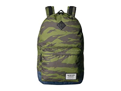 Burton Kettle Pack (Keef Tiger Ripstop Print) Backpack Bags