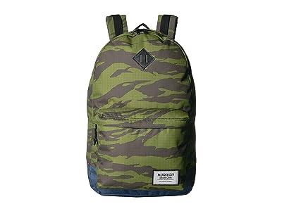 Burton Kettle Pack (Keef Tiger Ripstop Print) Backpack Bags
