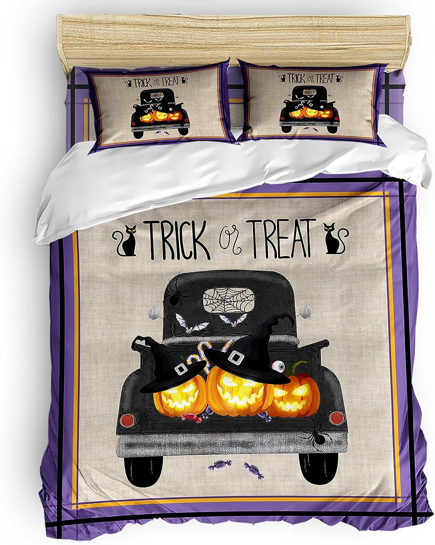 Comforter Cover Set Twin Textur Burlap Duvet Halloween Sale special price 2021 autumn and winter new