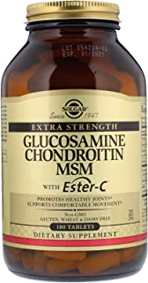 Solgar, Glucosamine Chondroitin MSM With Ester-C, 180 Tablets