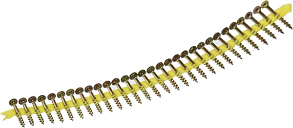 Simpson Strong Tie WSC112S 8 By 1 1 2 Wood To Wood Screw Yellow Zinc Coating 2000 Per Box