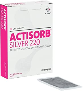 53650220 - ACTISORB Silver Antimicrobial Dressing 2-1/2 x 3-3/4