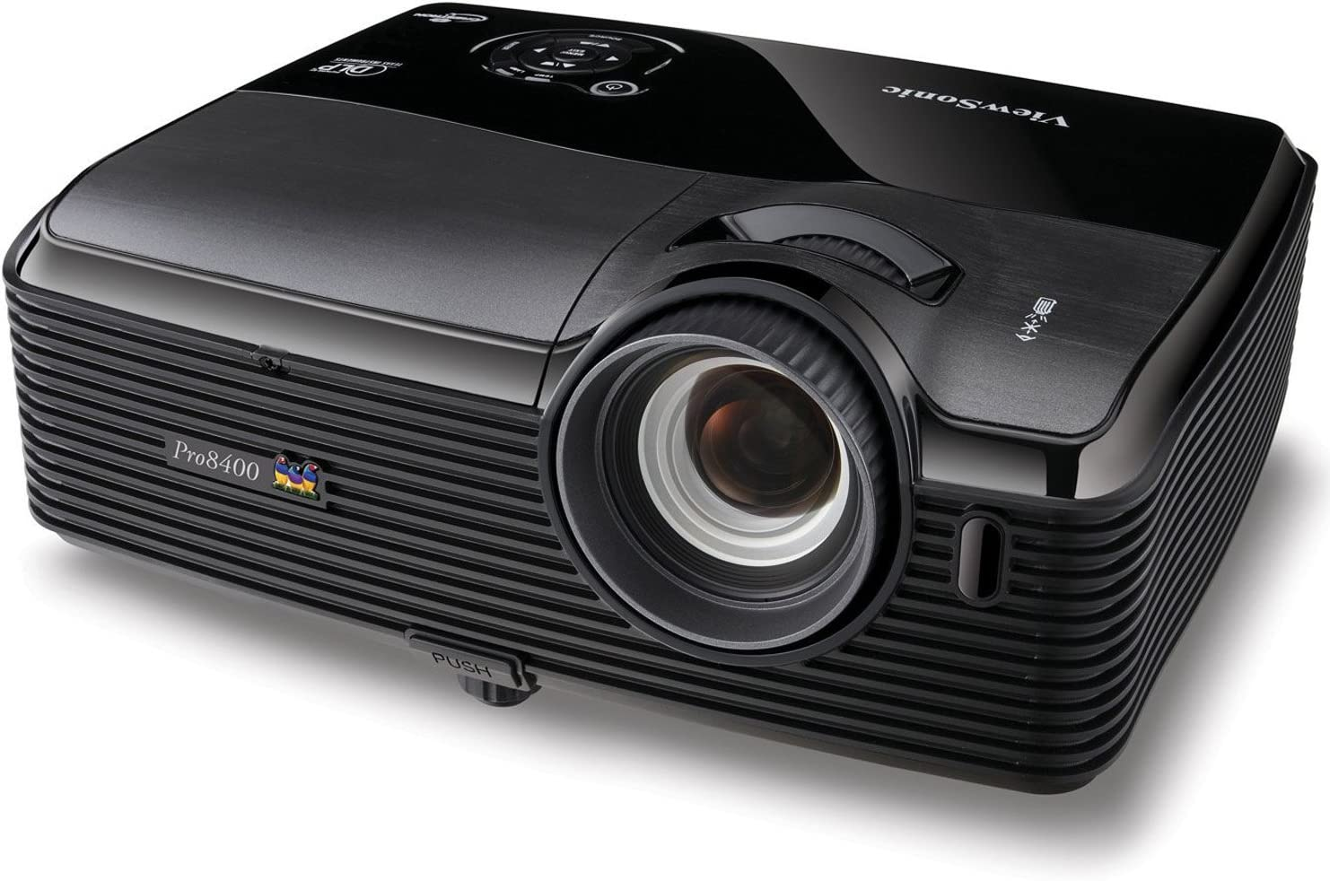 ViewSonic Arlington Mall PRO8400 4000 Lumens 1080p Home Theater HDMI security Projector