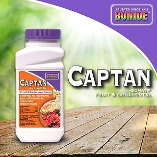 Bonide (BND171) - Captan Fruit and Ornamental, 50% Wettable Powder Fungicide (8 oz.), Brown/A