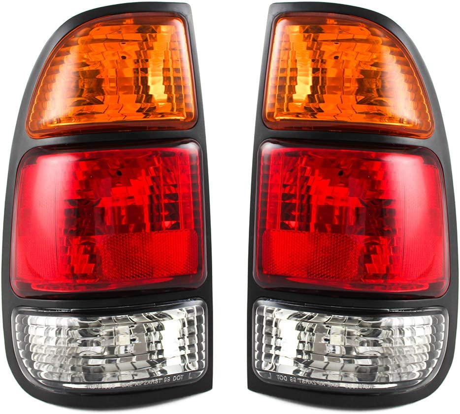 JP Auto Outer Tail Light Compatible 2000 安い 売り込み 激安 プチプラ 高品質 Toyota 2001 With Tundra