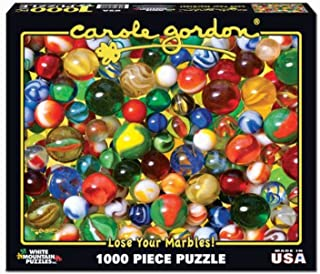 White Mountain Puzzles Lose Your Marbles- 1000 Piece Jigsaw Puzzle