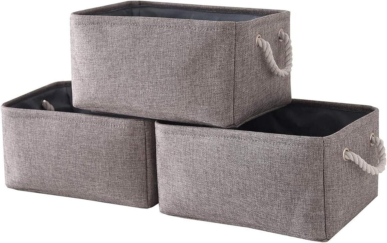 Trfarh Storage Baskets Fabric Basket Fort Worth Mall Long-awaited B Nursery 3-Pack Toy