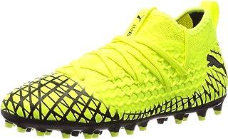 Puma Future 4.3 Netfit MG Niño, Bota de fútbol, Yellow