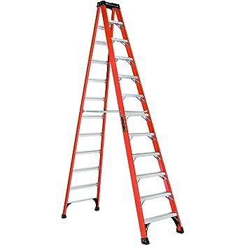 Louisville Ladder FS1412hd Step Ladder, 12-Feet