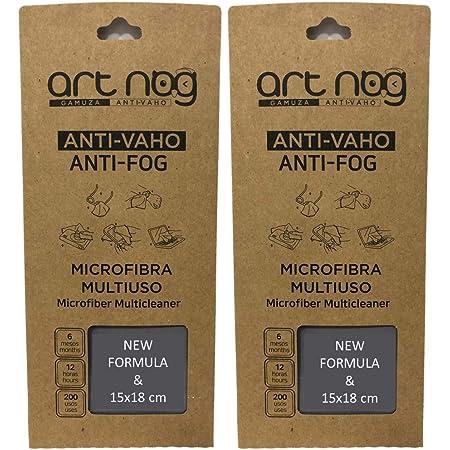 Art Nog Set Mit 2 Mikrofaser Antibeschlag 15x18cm Anti Beschlag Schutz Brillenputztuch Antibeschlag 15x18cm Drogerie Körperpflege