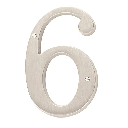 8 inches tall Funky House Numbers color choices
