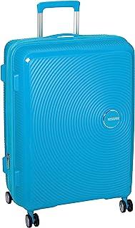 American Tourister Curio Expander Medium Suitcase Luggage - Turquoise