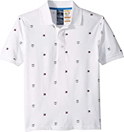 Polo Shirt with Full Magnetic Button Closure (Little Kids/Big Kids)