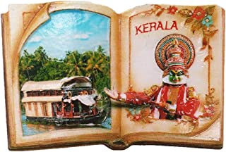 Kerala India Fridge Magnet Souvenir Gift Home & Kitchen Decoration Magnetic Sticker India Refrigerator Magnet Collection