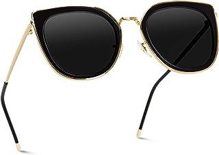 WearMe Pro Elegant High Fashion Oversize Women Cat Eye Flat Top Sunglasses …