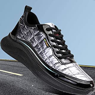 N-B Hombres Deportes Casual Zapatos Noche Reflectante Plataforma Herramientas Zapatos Zapatos de Hombre