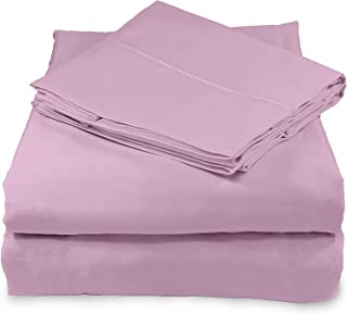 Whisper Organics, 100% Organic Cotton Sheets - 300 Thread Count Bed Sheets Set - Premium Quality Hypoallergenic Sheets - D...