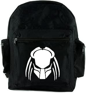 Predator Science Fiction Horror Backpack School Bag Aliens Alternative Clothing