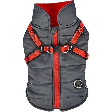 Puppia Tomas Winter Vest S RED