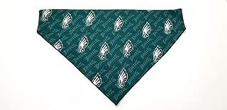 Philadelphia Eagles Mini Print Pet No-Tie Dog Bandana Slip On