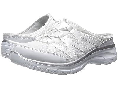 SKECHERS Easy Going Repute (White/Silver) Women