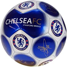 Official Chelsea FC Signature Football Blue Size 5