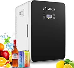 Compact Refrigerator,20L Large Capacity,Cooler and Warmer,Energy Star Single Door Mini Fridge freezer,With Digital Thermostat Display And Control Temperature