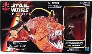1998 Star Wars Episode I Opee & Qui-Gon Jinn Action Figure