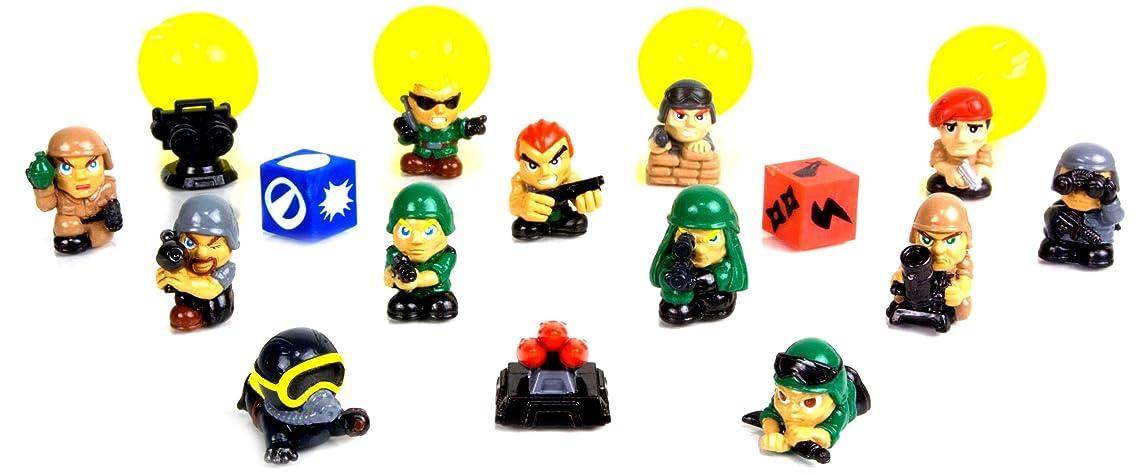 Squinkies Blip Boys Bubble Series 6 - Commando Force (16 Piece)