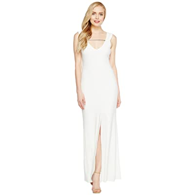 Laundry by Shelli Segal MJ Embellished Gown (Marshmallow) Women