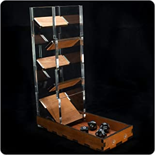 Dice Tower & Tray for Dice Games~ by C4Labs