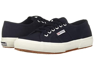 Superga 2750 Cotu (Navy/White) Athletic Shoes