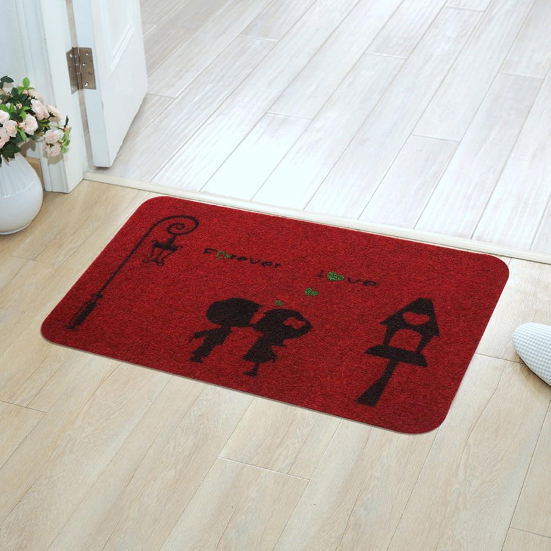 Indoor mats Floor mats for Bedroom Bathroom Kitchen Toilet bar Water-Absorption Anti-Slip mat-H 120x120cm(47x47inch)