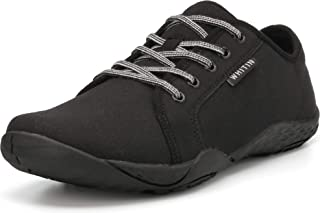 Men's Canvas Barefoot Sneakers | Wide fit | Arch Support...