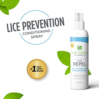 Lice Clinics of America Daily Lice Prevention Conditioning Spray – Repel Lice with 100% Natural Essential Oil
