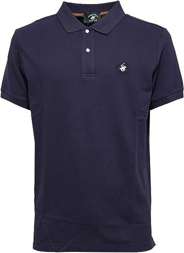 Beverly Hills Polo Club 4182K Polo hommes bleu Cotton t-Shirt Man