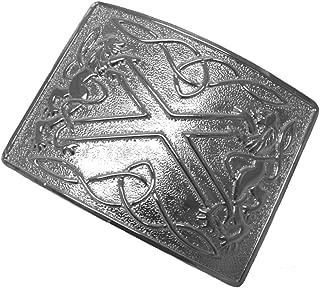 Mens Celtic Kilt Belt Buckle in Presentation Box