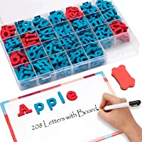 Gamenote Magnetic 208 Letters Double-Side Magnet Board kit