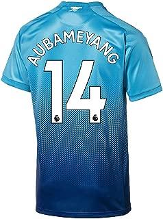 PUMA Arsenal Away Aubameyang Jersey 2017/2018 (Authentic EPL Printing)