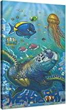 Easy Planet Save The Oceans Canvas Wall Art