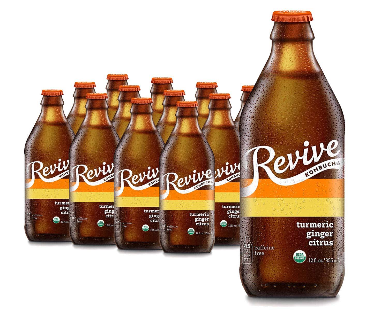 Revive Organic Kombucha - 2021new shipping free 12 Cold Ships Luxury goods Caffeine-Free N Pack