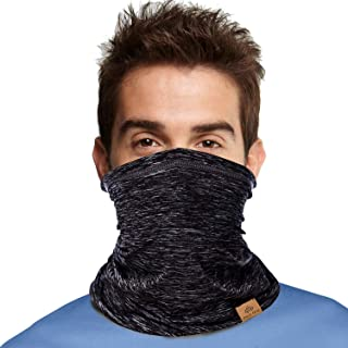 PAGE ONE Multifunctional Neck Gaiter Face Scarf Mask,Women Men Bike Motorcycle Hiking Fishing Face Scarf Bandana Mask