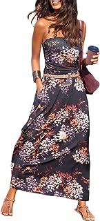loose bandeau dress